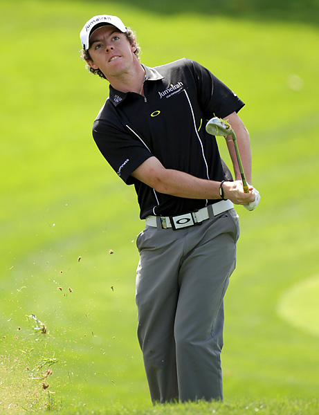 led for much of the week, but shot a 76 to finish tied for 10th.