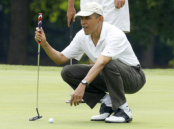 Obama has reportedly played more than 68 rounds since taking office.