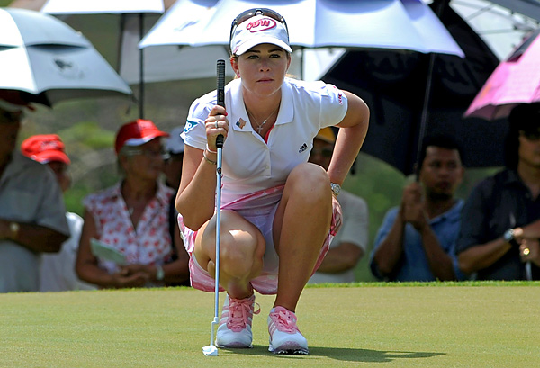 Paula Creamer shot a final-round 71 to finish fifth.