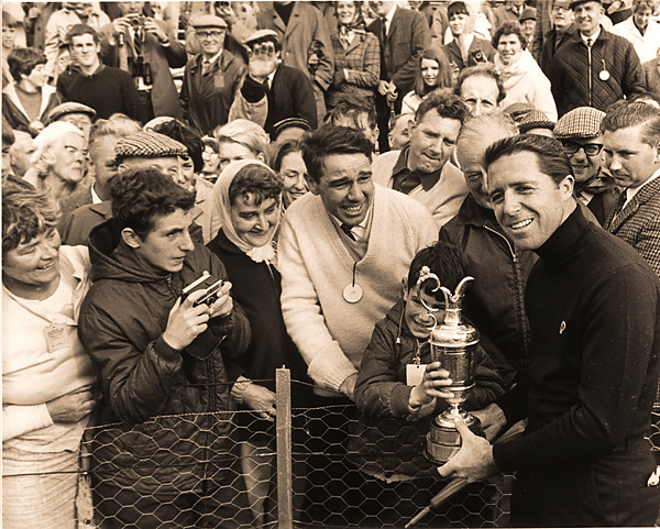 5. The 1968 British Open                     Player won his second career claret jug at Carnoustie, where he beat Bob Charles and Jack Nicklaus by two shots.