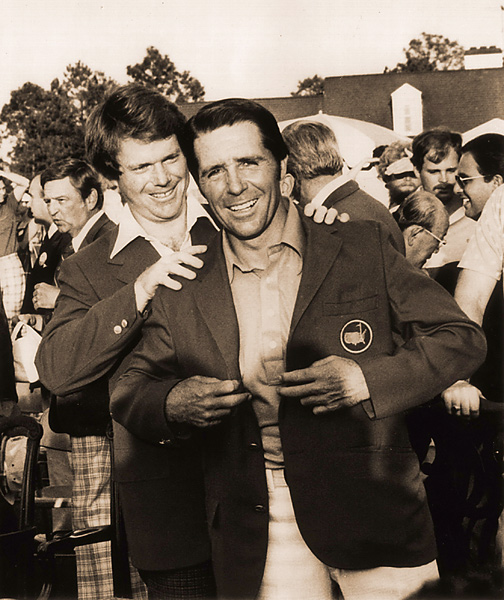 9. The 1978 Masters                       His final major title was perhaps his most surprising. Player trailed by seven shots entering the final round, but shot a 64 for a one-shot win over Rod Funseth, Hubert Green and Tom Watson.