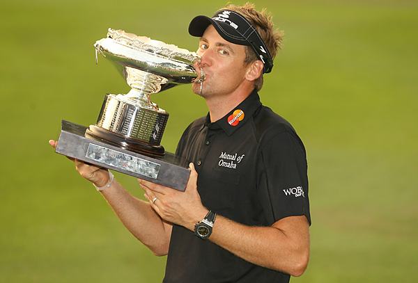 Poulter said in early 2008 that when he reached his full potential he was the only golfer who could challenge Tiger Woods atop the rankings, but on Sunday he refrained from making more predictions.
