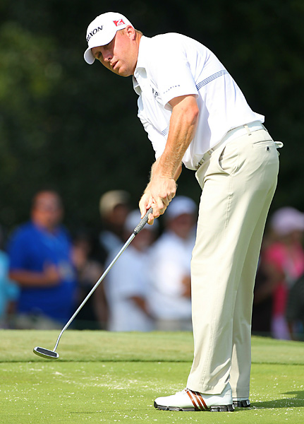 briefly pulled into a tie for the lead on the back nine on Sunday. He shot a 65 to finish two strokes behind Atwal.