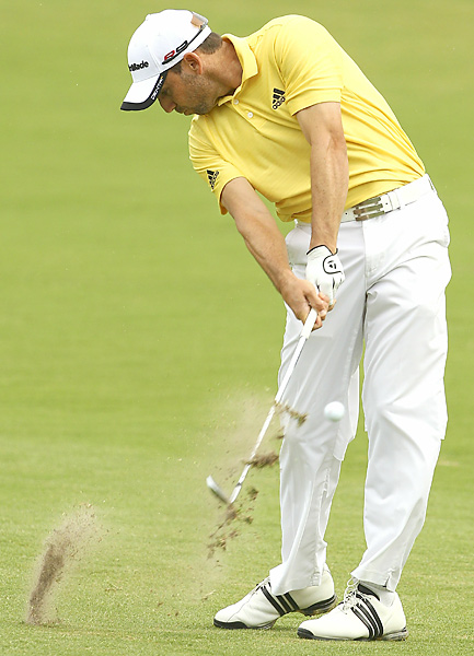 shot a 65, his lowest score of the year, to get into contention heading into the weekend.