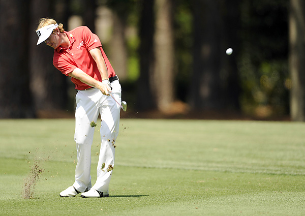 Snedeker shot a 64 to finish at 12 under and rally from six shots behind.