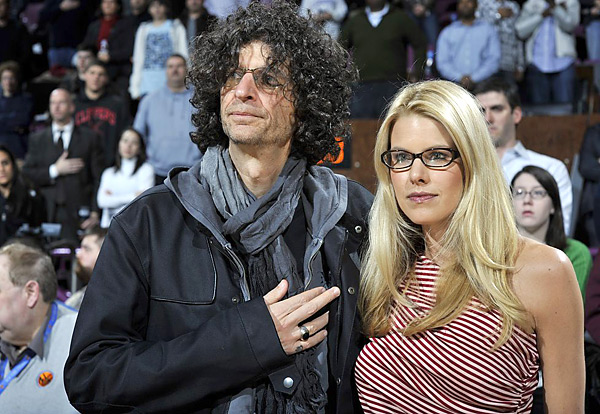 Howard Stern                     The shock-jock radio host (shown here with wife Beth Ostrosky) made a splash when he held a beauty pageant for Tiger's mistresses in March.