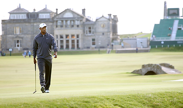 is looking for his third consecutive victory at St. Andrews.