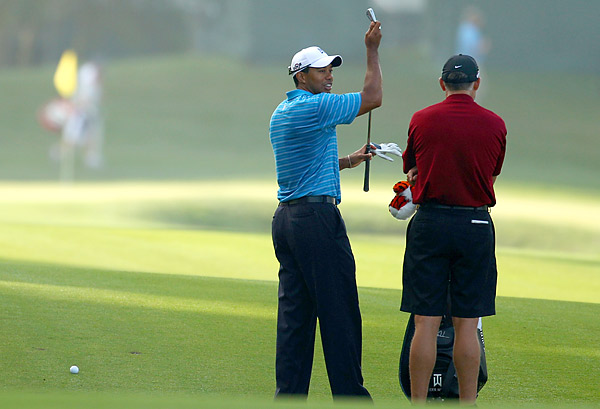 Woods hasn't finished in the top 10 at The Players since winning the event in 2001.