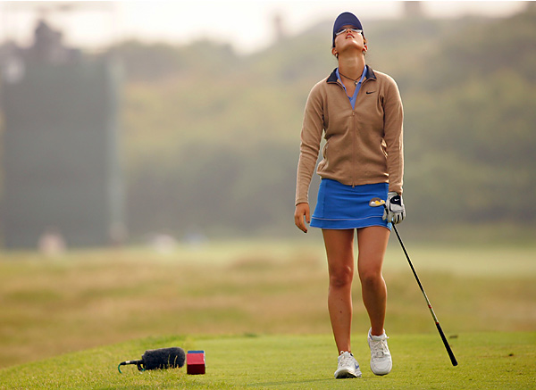 "She charmed at the 2004 Sony Open as a 14-year-old when she shot 72-68 to miss the cut by a stroke. Alas, Wie missed the '05-'07 Sony cuts by miles, WD'd from the '06 John Deere with heat exhaustion, and, in a move that tournament host Annika Sorenstam said lacked ""respect and class,"" Wie withdrew from the '07 Ginn Tribute after going 14 over for her first 16 holes. She cited an injured wrist, but critics cited the LPGA rule that bumps players off the circuit for the rest of the year if they shoot 88 or worse.Michelle Wie, circa 2005-2007                                               She charmed at the 2004 Sony Open as a 14-year-old when she shot 72-68 to miss the cut by a stroke. Alas, Wie missed the '05-'07 Sony cuts by miles, WD'd from the '06 John Deere with heat exhaustion, and, in a move that tournament host Annika Sorenstam said lacked ""respect and class,"" Wie withdrew from the '07 Ginn Tribute after going 14 over for her first 16 holes. She cited an injured wrist, but critics cited the LPGA rule that bumps players off the circuit for the rest of the year if they shoot 88 or worse. They seemed to have a point — Wie was spotted beating balls two days later. Having put some distance between herself and her parents, Wie began to get back into the public's good graces when she got a wild-card pick and went 3-0-1 for the 2009 U.S. Solheim Cup team."