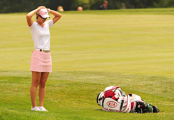 Wie hasn't finished in the Top 10 in any major since the 2006 U.S. Open, when she was a high school senior.