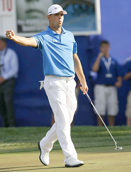 Gary Woodland                     Age: 27 | Wins: 1                                          The former D-1 hoops player is not afraid of big crowds or taking the big shot. The late-ish bloomer already has one pelt in his pocket and the sort of smash-and-chase approach that makes the masses take notice (see: Daly, John). He's a dark horse, but as he continues to get comfortable out there, his upside is huge.