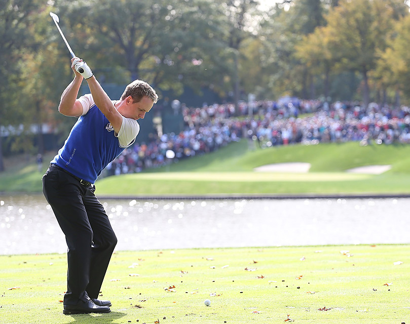 Luke Donald is 8-2-1 in Ryder Cup play.