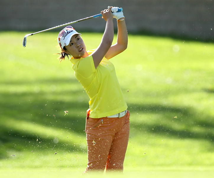Haeji Kang opened with a three-under 69.