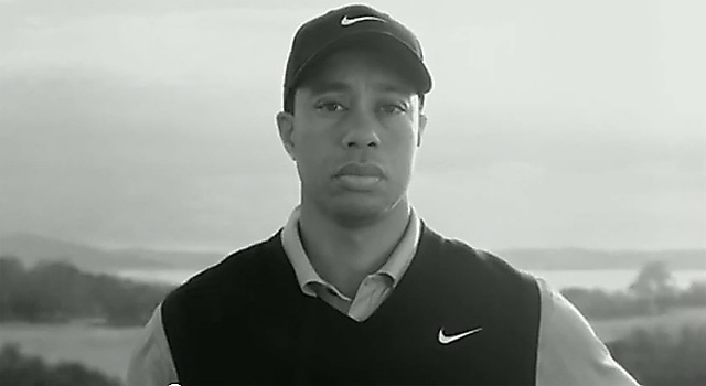 "Earl ""Speaks"" From Grave Nike unveiled a bizarre Woods ad during the 2010 Masters, where Woods stared at the camera while the voice of his deceased father, Earl, lectured him for his infidelity."