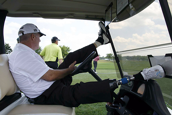 Before his accident, Green was starting to recapture the form that made him a five-time PGA Tour winner and former U.S. Ryder Cup team member.