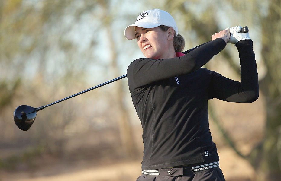 Cydney Clanton of the U.S. opened with a two-under 70.