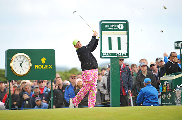 At the 2010 British Open, Daly returned to the scene of one of his greatest triumphs: St. Andrews. He opened with a 66 to put his name on the leaderboard, but shot 76-74-73 the rest of the way to finish tied for 48th.