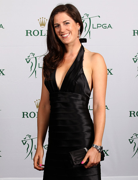 Sandra Gal                     Gal captured her first LPGA victory at the 2011 Kia Classic.