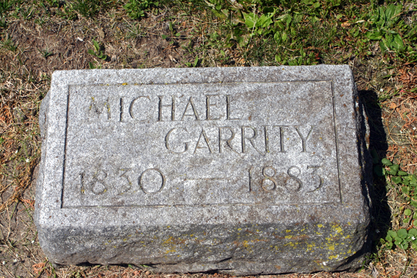 My search for the golf gene started in New Richmond, Wisc., where my golf-mad dad, Jack Garrity, grew up among Irish immigrants. This the headstone of my great-grandfather, Michael Garrity, who fled County Mayo during the Great Famine. It's safe to say he was not a golfer.
