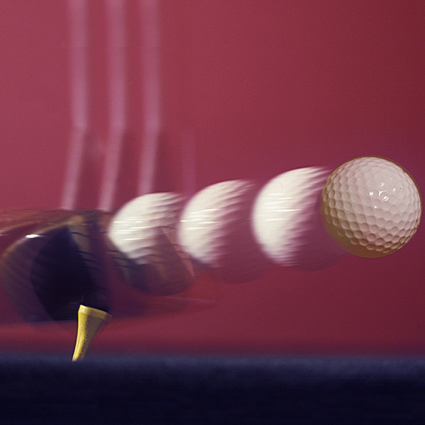 THE OLD TRAJECTORY (1990)                                              Average ball speed on the PGA Tour: 160 mph                       Average spin rate of a balata ball (preferred by Tour players of that era) launched at this speed: 4,000 rpm                       Optimal launch angle for these conditions: 8 degrees