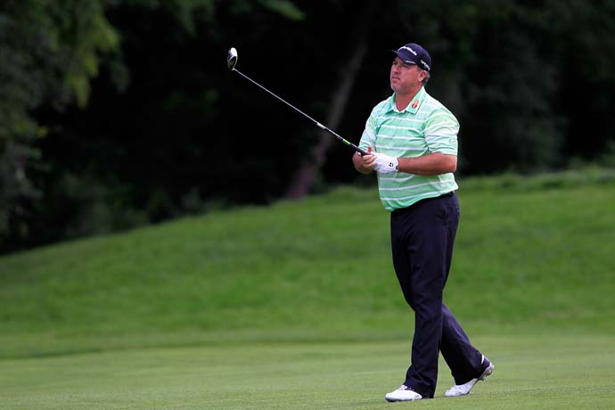 Boo Weekley's 2013 Comeback Tour took the week off. He missed the cut at 5-over.