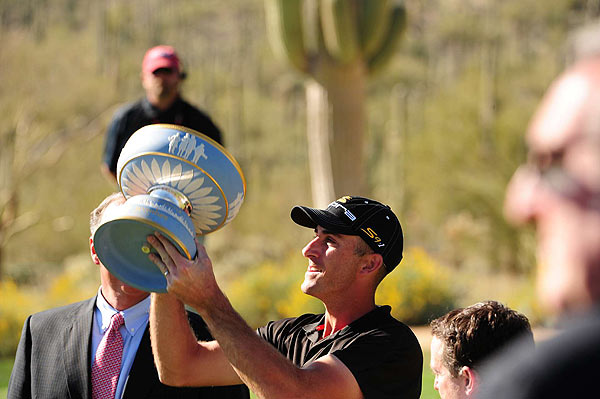 WGC-Accenture Match Play Championship                       Winner: Geoff Ogilvy                       Ogilvy won his second Match Play title over Paul Casey on the 33rd hole of competition.                       Read the entire story