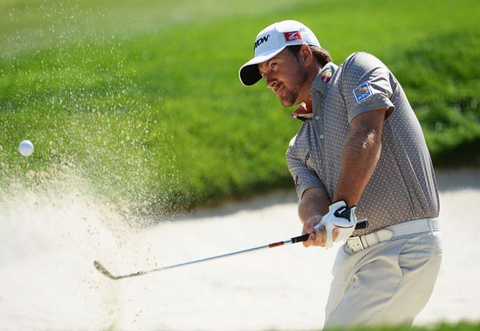 Graeme McDowell, another player build for tough courses, could be a dark horse at Oak Hill this week.