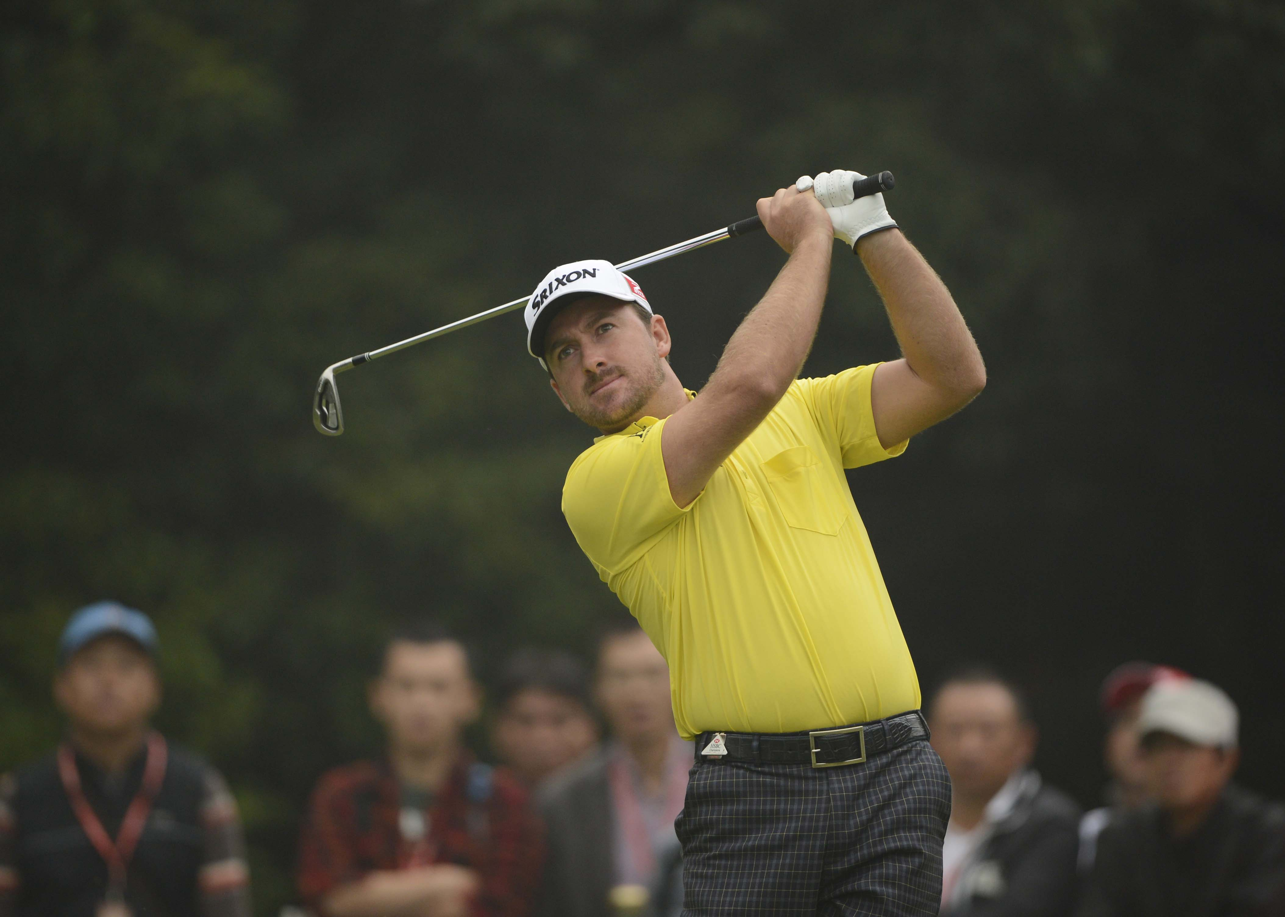 "Graeme McDowell had a share lead at one point on Sunday but couldn't keep up with the charging Dustin Johnson. ""He's just a quality, talented, very athletic, classy player,"" McDowell said of Johnson. ""Yeah, he makes mistakes. But when you've got a game as good as him, you can get away with a few mistakes. He's just got a great wedge game to go with just an outrageously good driving game."""
