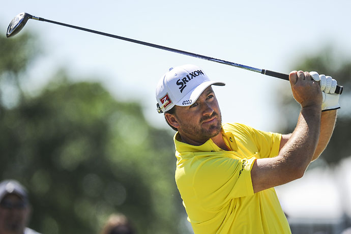 """There is an element to these guys being a little spoiled over here on the PGA Tour, if the greens drop below 10 on the Stimp, the heads are off.  Or if there's too much sand in the traps or the rough is an inch longer than normal.""                     --Graeme McDowell on how PGA Tour players are softer than European Tour players."