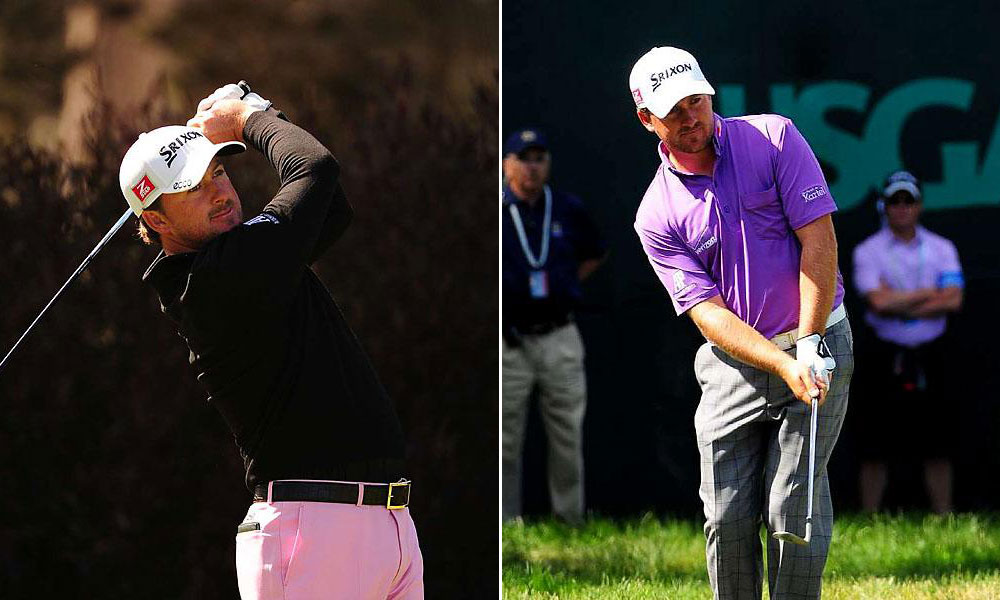 GMac's Palette                     Graeme McDowell came up short, but he looked dapper doing it. He likes a hint of color, pink or purple, balanced by neutral tones, and rich full-cut trousers.