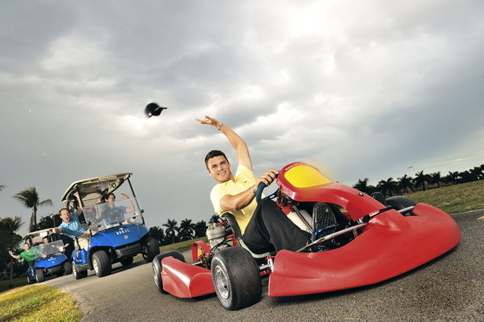 Martin Kaymer won the 2014 Players Championship, but he remains a relative unknown after fading from the World No. 1 ranking in 2011. We compiled 11 things you need to know about our man from Dusseldorf, Germany.                     No. 1. He still lists go-karting among his favorite hobbies despite breaking his foot in a go-karting accident in the fall of 2009.