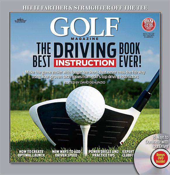 GOLF's Best Driving Instruction Book Ever ($32; amazon.com)                       Featuring the most elite team of teachers in America, this book provides everything recreational players need to add big-time yards to their tee shots with swing moves and positions anyone can master, plus a few new ticks that add eye-popping speed almost overnight. Learn how to tweak your gear to get the most yards out of your motion, mechanics for building power without swinging harder, and the end-all, be-all method for matching your driver swing to what your body can muster.