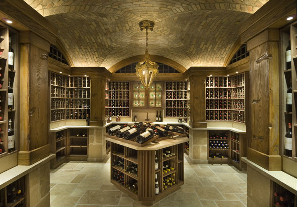 In addition to the theater, cigar lounge and gymnasium, there is a wine cellar that can hold 3,200 bottles.