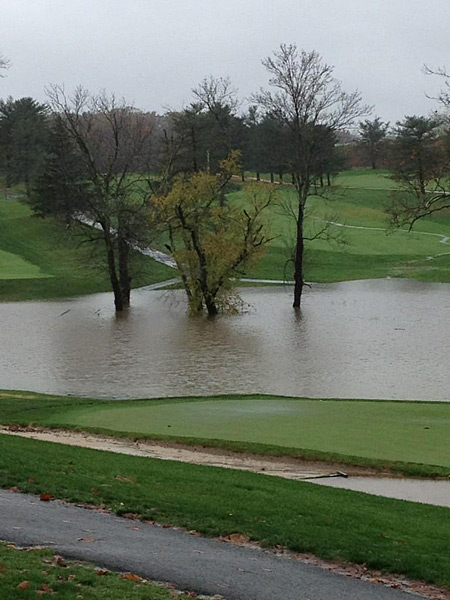 "Goose Creek Golf Club in Leesburg, Va.: ""@MaggieHogan1: Goose creek golf course #flooding #Leesburg #Sandy #loudoun"""