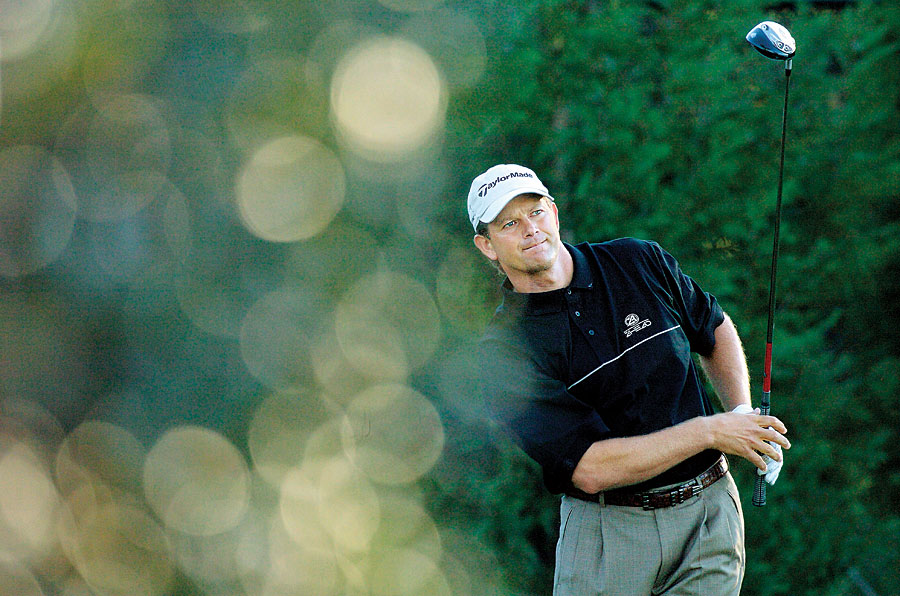 Retief Goosen, 2004 Tour Championship                       Tiger shot a 72 and finished second.