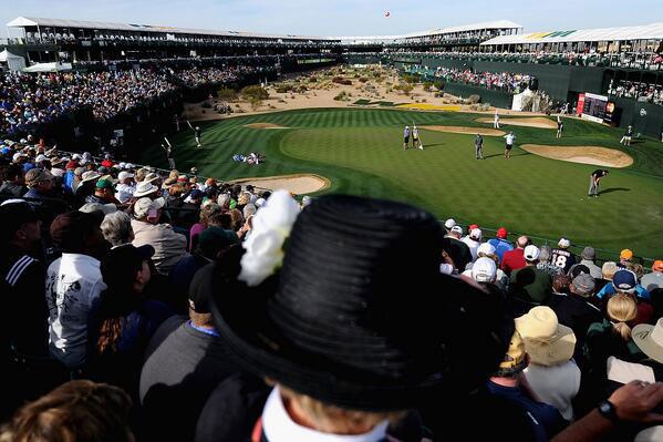 @HenrikLahti: Waste management Phoenix PGA 16th