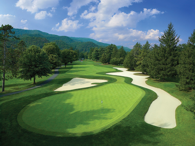Here is a sampling of the best courses you can play in the South. A complete list of the South, plus the best courses in every state, is here.                       The Greenbrier (Greenbrier)                        White Sulphur Springs, W.Va. -- $150-$285, greenbrier.com