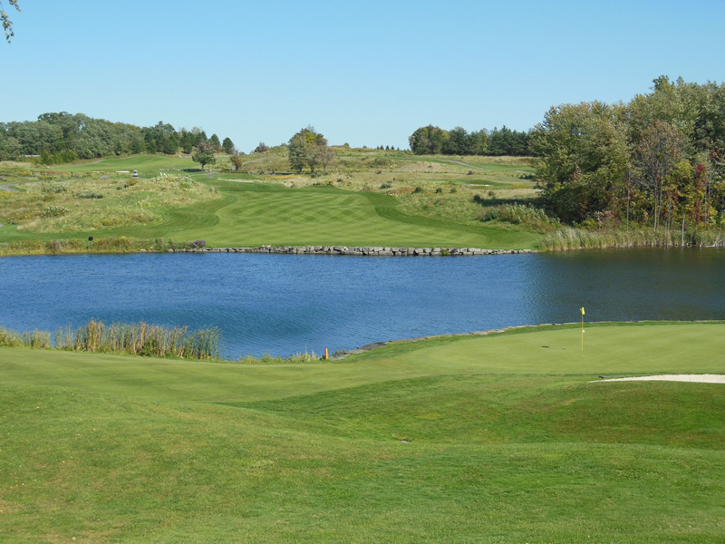 Greystone Golf Club -- Walworth, N.Y.                       Submitted by Bob Feak