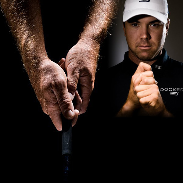 "Aaron Oberholser                     ""I think [Lee] Janzen, [Fred] Couples, [Corey] Pavin and I are the only guys on Tour without a glove. I use the interlock, and no, my hands aren't small. The club absolutely feels different every day. I'm careful about eating too much salt, which can make your fingers swell. When my fingers thin out and the grip feels smaller, I know I'm going to have a good week."""