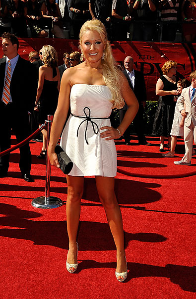 Natalie Gulbis also attended the 2009 ESPYs.
