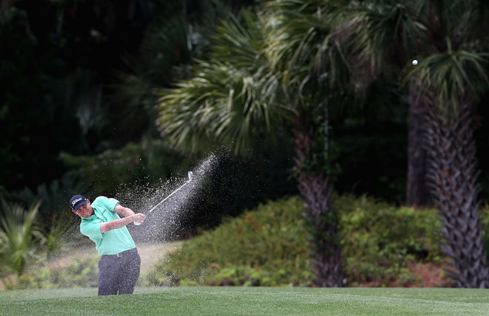 Bill Haas shot a one-under 70 to remain in the hunt.