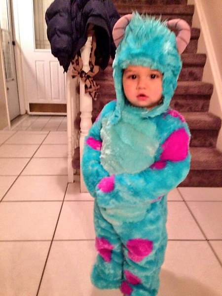 "Bubba Watson""My little Monster!! #ProudDad."" Via Twitter."