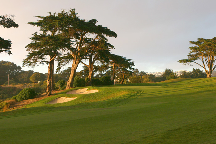 "4. TPC Harding Park -- San Francisco, Calif.                       Casper says: ""It's a great municipal golf course and the home of Ken Venturi -- his dad was the pro there."""