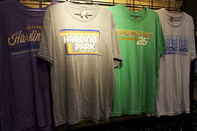 Classic Harding Park Ts from Ouray Sportswear. Too bad most golf courses would never let you wear them to play.