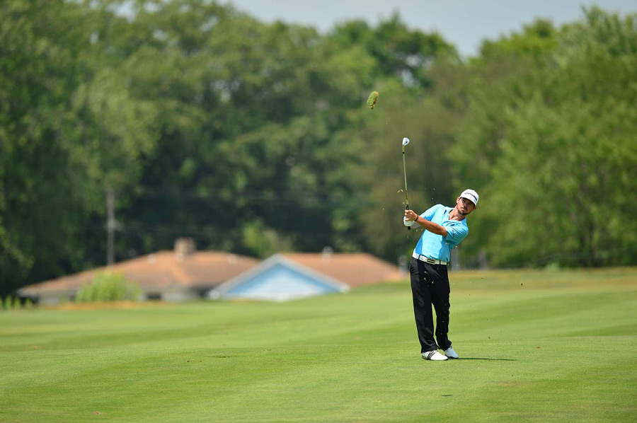 Brian Harman let a good finish slip away with a 73 on Sunday.