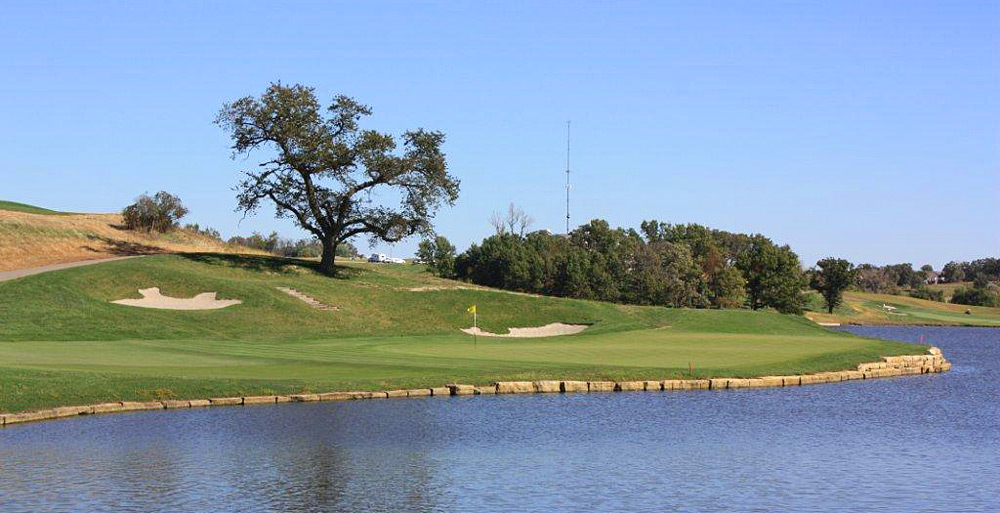 57. The Harvester Golf Club                        Rhodes, Iowa -- $79-$139, harvestergolf.com