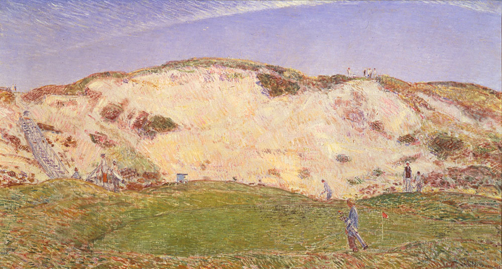 Childe Hassam (American, 1859–1935)                     Dune Hazard, No. 2                     1922                     Oil on canvas
