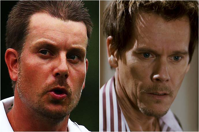 Henrik Stenson and Kevin Bacon
