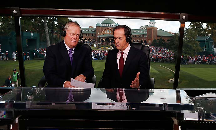 """The U.S. Open gets in your blood. It becomes a part of who you are. I'm still coming to terms with knowing that next year will be our last U.S. Open.""                       NBC Sports announcer Dan Hicks on Fox Sports taking over the U.S. Open broadcast for 15 years starting in 2015."