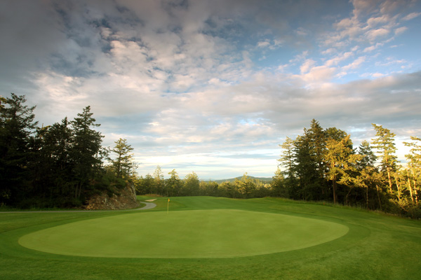 Highland Pacific Golf Course | Victoria, British Columbia                     Green fees: $58-$87                     250-478-4653, highlandpacificgolf.com
